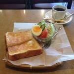 ほんわかのんびりモーニング「喫茶れもん」【東福寺カフェ】