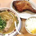 京都市内で数少ない「鶏のもも焼き」が食べられる!あぁ青春の「天下一品 九条店」【こってり度高め♡】