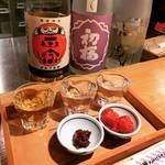【京都穴場カフェ】ありそうでなかった日本酒カフェ!おひとり様女子でも和み空間☆「おさけカフェプチプチ」