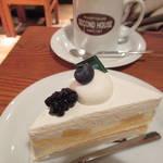 大満足ケーキとくつろぎログハウス空間「セカンドハウス出町店」【京都カフェ】