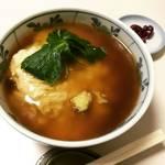 【京都大学スグ】底冷えの京都で熱々あんかけ湯葉丼!昔から関西エリアにある餅系食堂☆「大力餅」