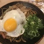 京都木屋町で話題の生麺焼きそば!モチモチ食感がたまりません!「お好み鉄板 ニ六(にろく)」