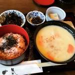 【京都ランチめぐり】有名和菓子店の京風白味噌雑煮ランチ!ほかほか御赤飯付で美味☆「一乗寺中谷」