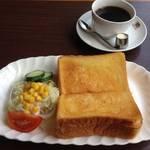 【京都老舗喫茶】花街・祇園でホッと朝ごはん*「喫茶 農園 NOEN(ノウエン)」