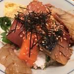 和風麺付きの海鮮めしが1000円!祇園仕込みの本格派「魚匠 もとき」@橿原の巻っす