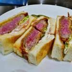 """極上カツサンドが名物!京都の""""肉がうまい""""人気洋食店「はふう 聖護院」"""