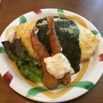 【懐かしの京都洋食】サクサクフライが堪らない!選べるソースと洋食メニュー★オムライスあらき