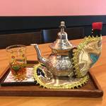 京都アジアンカフェ|威風堂々癒しのミントティー*「カフェ桃山78」【伏見桃山】