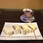 京町屋の純喫茶でまったりサンドイッチランチ☆珈琲工房てらまち【三条会商店街】