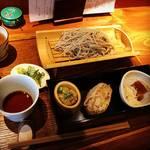 【京都ランチめぐり】オフィス街・烏丸御池の手打ち蕎麦店のお得なランチ!日本酒と夜メニューも充実☆「もうやん」