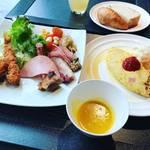 【京都モーニングめぐり】非会員でもラグジュアリーなビュッフェ朝食が食べられる!エクシブ京都八瀬離宮「ジョバーノ」