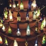 【京都イベント最新情報】大丸百貨店屋上を酒瓶が彩る『京都・烏丸酒灯路2018』に行ってきました!