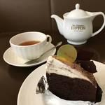 【京都カフェ】揺るぎない人気のティーサロン「サー・トーマス・リプトン ティーハウス店」