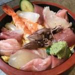 750円の海鮮ちらしがうまい!イオン五条店裏の隠れた人気店「寿司割烹 錦平(きんぺい)」