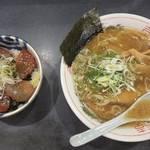 【西京極】ラーメンもおいしいけど「づけ丼」が絶品「笑福屋」