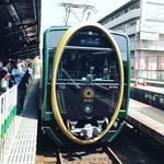 【京都叡山電車】話題騒然の楕円形デザイン!叡電の新しい顔『ひえい』を撮り鉄☆