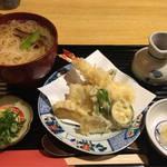 京都・白川の穴場でみんな大好き天ぷらランチ「白川 京とみ」@白川の巻っす