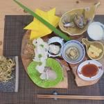 【亀岡 馬堀】旬の和食をリーズナブルに「旬菜佳肴 kocorono(しゅんさいかこう ココロノ)」の美しい料理の数々