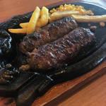 極上俵型ハンバーグ|ファミレスを凌駕する美味しさ「ステーキハウス ブロンコビリー京都南店」