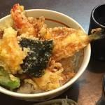 贅沢ネタのお値打ち天丼ランチ「京都天ぷら かふう」@京大正門前の巻っす