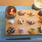 ええ具合に漬かった京野菜が堪能できる「漬け野菜 isoism(イソイズム)」のおひるごはん【京都駅】