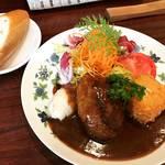 【京都ランチめぐり】安定の洋食メニューは不動の人気で行列!下鴨エリアの名店「浅井食堂」