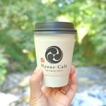 ひんやり貴船の川床でホットコーヒーを「HyoueCafe」