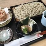 京都東山観光でオススメしたい名店のそば|筒状のかき揚げは必食です!「蕎麦流々千角(せんかく)」