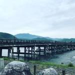 【京都嵐山】天下一の観光スポットを悠々自適に朝活攻め!初夏の紫陽花も☆「渡月橋」