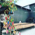 【京都北野天満宮】夏の風物詩!境内の大福梅の土用干し!!七夕飾りもカラフルに☆