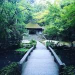 【京都寺めぐり】文豪・谷崎潤一郎眠る墓には命日参拝☆緑に包まれた白砂壇は珍客の気配「法然院」