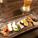 【京都酒場めぐり】東の台所・古川町商店街のビアバー!斬新なクラフトビール&燻製たち☆「ビア小町」