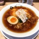 【京都ラーメンめぐり】酷暑の今こそ冷たい煮干そば!ゴクゴクと喉を潤すスープ完食☆「ラーメン 霽レ空 (ハレソラ)」