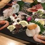 盛り上がる京都伏見!多彩で鮮度のいい海鮮料理が盛りだくさん「三献(さんこん)」