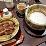 京都|地焼きの三河産うなぎに土鍋ご飯「大國屋鰻兵衛(おおくにやまんべい)」