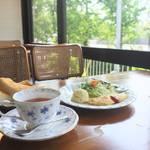 緑と光に癒やされる☆西京極の老舗喫茶店「sunbeam(サンビーム)」