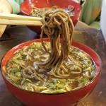 京都御所の西側であつもりの出石そばを味わう「竹邑庵太郎敦盛(ちくゆうあんたろうあつもり)」