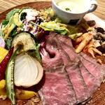 新鮮野菜を使った料理とインテリアにこだわった「kagu cafe ヒガシモト」【城陽市】