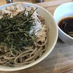 """ラー油が効いたクセになる """"つけ蕎麦"""" が京都に上陸「十割蕎麦専門店 10そば」"""