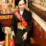 【京都珍スポット】有名人マネキン同席の元祖お好み焼き!祇園名物グルメ☆「壱銭洋食(いっせんようしょく)」