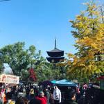 【京都縁日めぐり】世界遺産・東寺で700年以上の歴史!1000以上出店する最大級青空市☆「東寺弘法市」