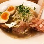 【京都ラーメンめぐり】予約困難の有名割烹『食堂おがわ』プロデュースの注目店☆「River ramen(リバーラーメン)」