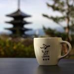 半纏にこたつでごゆっくり♡SLOW JET COFFEE(スロージェットコーヒー)高台寺【京都・東山】