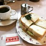 【京都モーニングめぐり】超穴場☆老舗ベーカリー併設の喫茶モーニング!うれしい地元ファースト価格「ベーカリーヤマダ」