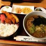 【京都ランチめぐり】地元民御用達蕎麦店!驚愕コスパのボリューミーランチに客足絶えず☆「西陣ゑびや」