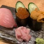 錦市場近くで手軽に美味しい寿司と天ぷら「寿司酒場 丸福 錦店」