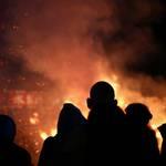 【京都三大火祭り】清凉寺(嵯峨釈迦堂)の「お松明式」は神秘的で壮大なスケールでした!