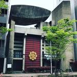 【京都建物探訪】解体直前!圧倒的存在感の巨大オブジェ乗せた昭和の建物見納め「金光教旧烏丸教会」