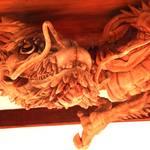 全長約8メートル!龍の彫刻は圧巻の迫力!「瀧尾神社」【東福寺】