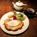 【京都モーニングめぐり】河原町三条の穴場ビストロ朝食!濃厚なクロックマダムは必食「カフェビストロオーボンモルソー」